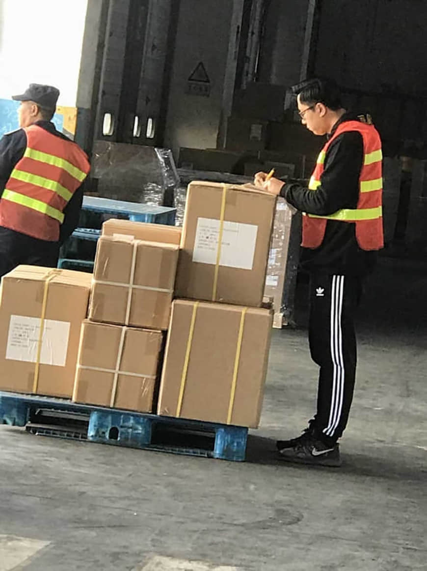 bidet shipment to Denmark 1