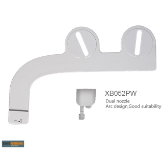 Bidet attachment with Double nozzle XB052PW